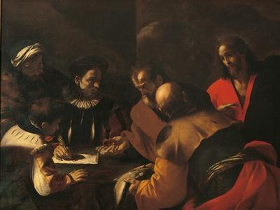 Toll of the Coin, (Tax Collectors, St. Peter with a Fish, and Jesus), 1640
