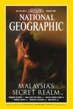 Cover of the August, 1997 National Geographic Magazine by Mattias Klum