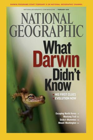 Cover of the February, 2009 National Geographic Magazine by Mattias Klum