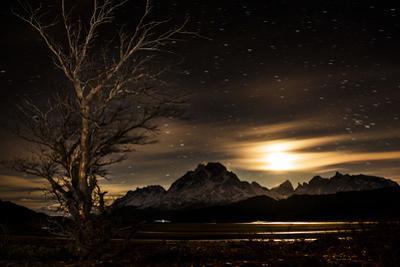 Dawn over Torres Del Paine National Park by Mattias Klum