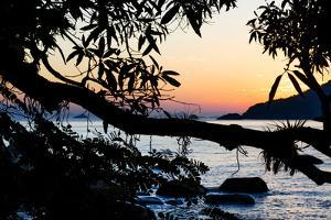 Sunrise over the Ilha Grande, an Island Located Off the Coast of Rio De Janeiro by Mattias Klum