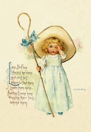 Little Bo Peep by Maud Humphrey
