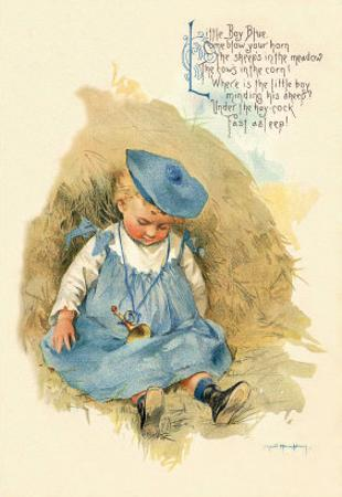 Little Boy Blue by Maud Humphrey