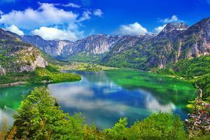 Amazing Alpine Lakes, Hallstatt, Austria by Maugli-l
