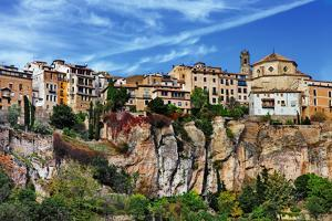 Amazing Spain - City on Cliff Rocks - Cuenca by Maugli-l
