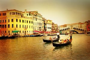 Amazing Venice on Sunset - Artistic Toned Picture by Maugli-l