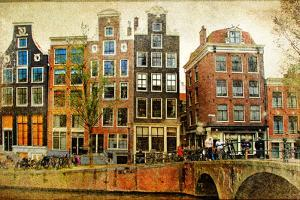 Amsterdam - Retro Styled Picture by Maugli-l