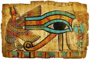 Ancient Egyptian Papyrus by Maugli-l