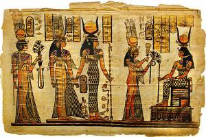 Ancient Egyptian Parchment by Maugli-l