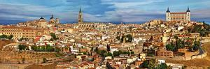 Ancient Spain - Toledo City, Panoramic View by Maugli-l