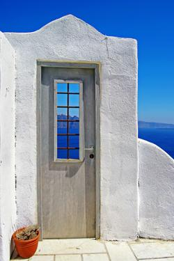 Architectural Details of Santorini - Traditional Cycladic Style by Maugli-l