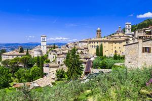 Assisi - Medieval Historic Town in Umbria, Italy by Maugli-l