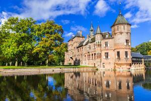 Beautiful De Haar Castle, Holland by Maugli-l