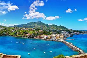 Beautiful Ischia Isalnd - View from Castel. Italy by Maugli-l