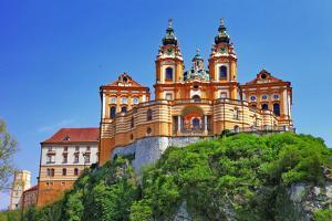 Benedictine Abbey in Melk, Austria by Maugli-l