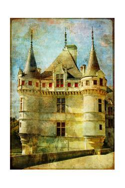 Castle From Old Fairy Tale Book by Maugli-l