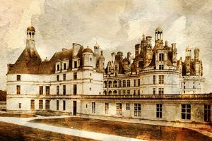 Chambord Castle - Artwork In Painting Style by Maugli-l