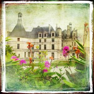 Chambord Castle -Retro Styled Picture by Maugli-l