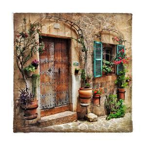 Charming Streets Of Old Mediterranean Towns by Maugli-l