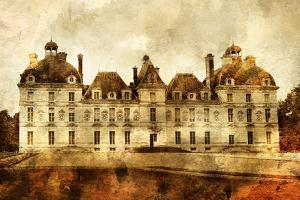 Cheverny Castle - Artwork In Painting Style by Maugli-l