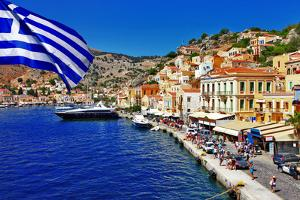 Colorful Greece Series - Symi Island by Maugli-l