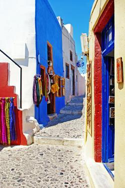 Colors of Greece - Pictorial Streets of Cycladic Islands by Maugli-l