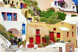 Colors of Greece - Santorini by Maugli-l