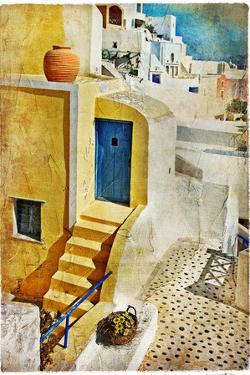 Colors of Santorini - Artistic Picture by Maugli-l