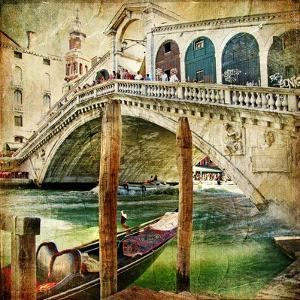 Colors Of Venice - Artwork In Painting Style From My Italian Series by Maugli-l