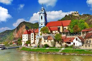 Durnstein near Vienna, Lower Austria, Pictoial Wachau Valley by Maugli-l