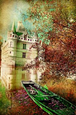 Fairy Castle - Artwork In Painting Style by Maugli-l