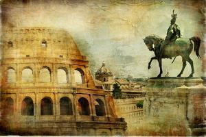 Great Rome - Artwork In Painting Style by Maugli-l