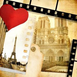 Love Paris - Vintage Photo-Album by Maugli-l