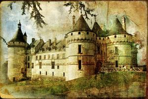 Medieval Castle - Old Book Of The Fairy Tales by Maugli-l