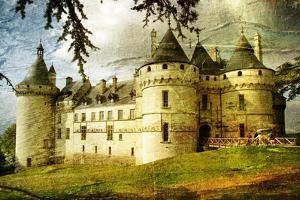 Medieval Castle - Picture In Painting Style by Maugli-l