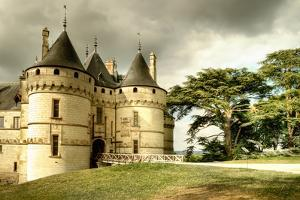 Medieval Chaumont Castle - Artistic Toned Picture by Maugli-l