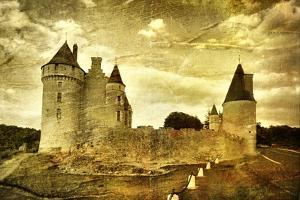 Medieval French Castle - Artistic Toned Picture by Maugli-l