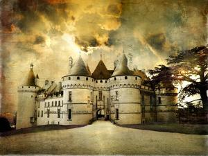 Mysterious Castle Chaumont on Sunset - Artistic Picture by Maugli-l