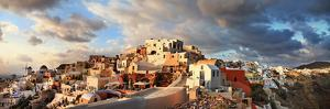 Oia Village, Santorini on Sunset by Maugli-l