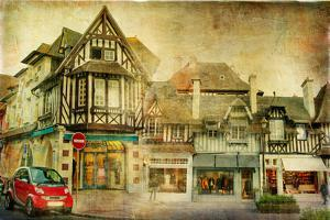 Old Normandy - Retro Styled Picture by Maugli-l