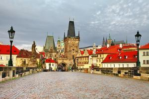 Old Prague, Famous Charles Bridge by Maugli-l