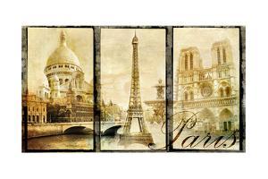 Paris - Old Photo-Album Series by Maugli-l