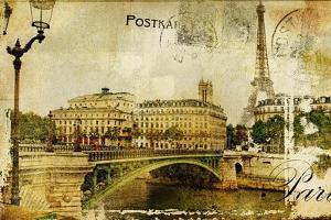 Paris Paris.. Vintage Photoalbum Series by Maugli-l