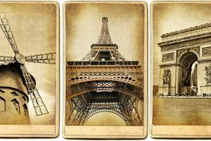 Paris - Vintage Cards Series by Maugli-l