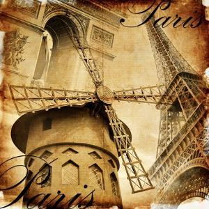 Parisian Details - Toned Picture In Retro Style by Maugli-l