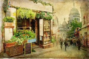 Parisian Streets - Montmartre by Maugli-l
