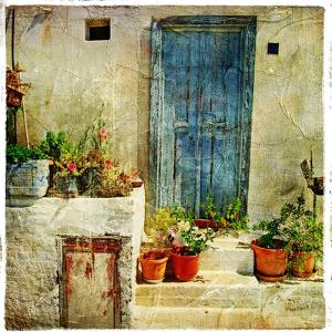 Pictorial Greek Villages by Maugli-l
