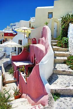 Pictorial Streets of Santorini by Maugli-l