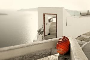Romantic Holidays - Amazing Santorini . Artistic Toned Picture by Maugli-l