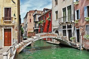 Romantic Venetian Canals by Maugli-l